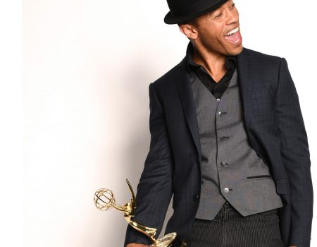 Winning my first Emmy Award