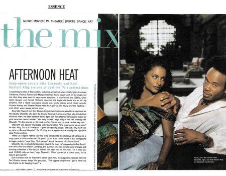 Essence Magazine feature with Kent King Cardona