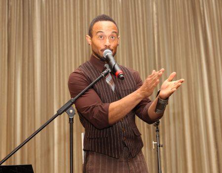 Speaking at the Safe Passage Gala