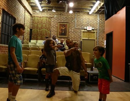 Teaching Kids Acting & Leadership